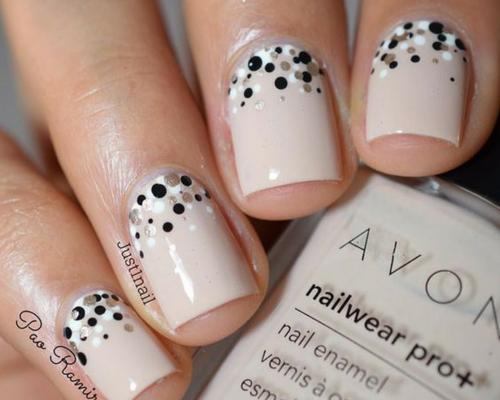 Top 22 Simple Polka Dot Nail Art Design For Beginners Getmeyle